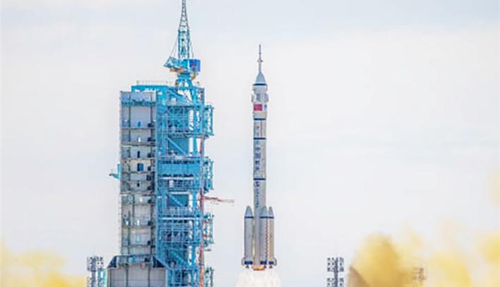 上海超聚祝贺神舟十二号发射成功!
